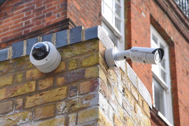 Türsprechanlagen mit Videoüberwachung am Haus